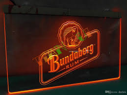 Neon Signs For Home Decor 2017 Le208 Bundaberg Rum Neon Light Sign Home Decor Shop Crafts