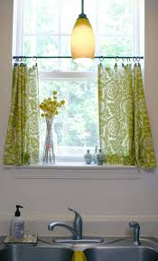 White Curtains With Yellow Flowers Decorating Fascinating Curtains And Window Treatments For Home