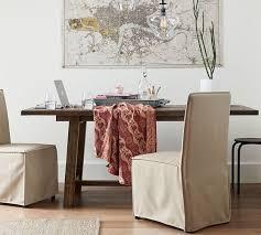 rectangular pine dining table bartol reclaimed pine dining table pottery barn