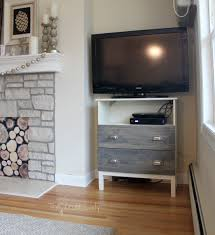 Ikea Tv Furniture Ikea Tarva Dresser Turned Tv Stand The Crazy Craft Lady