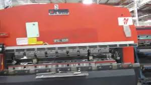 amada rg 100 press brake 1877 mov youtube