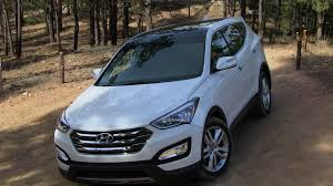 2014 hyundai santa 2013 hyundai santa fe sport awd on road review