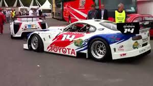 lexus lfa javier quiros toyota supra v8 race car at goodwood festival of speed 2010 youtube