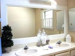 Framed Mirrors Bathroom Large Framed Mirror For Bathroom Kakteenwelt Info