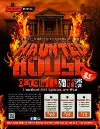 haunted house mississauga halloween partytoronto bowling