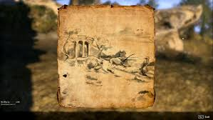 Eso Maps Eso Elder Scrolls Online Dark Brotherhood Gold Coast Treasure Map