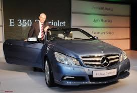 mercedes e class 350 price mercedes launches the e350 cabriolet in india team bhp