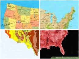 map usa for how to draw a map of the usa 9 steps with pictures wikihow