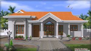 one storey house design with floor plan youtube