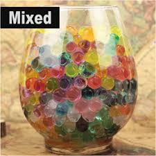 aliexpress com buy 10g pearl shaped crystal soil water beads mud
