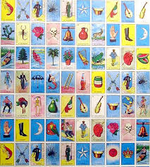 gift wrapping paper mexican loteria poster gift wrapping paper