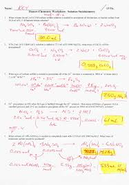 gas stoichiometry worksheet answers worksheets