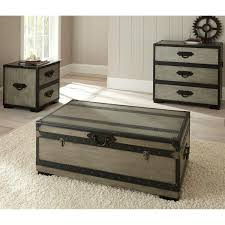 storage trunk coffee table ideas coffee table fancy black and grey wooden trunk coffee table