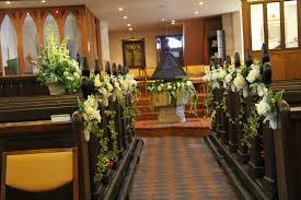 Wedding Pew Decorations Amazing Flowers For Church Pew Wedding Decoration Brilliant