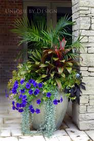 large flower container ideas garden ideas
