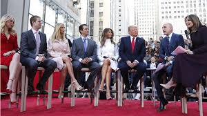 donald trump family donald trump s family on his instincts empathy and habit they wish