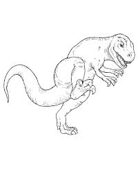 tyrannosaurus rex coloring kids coloring