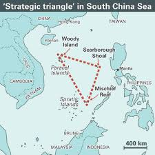 Map Of South China Sea Could A Tiny Islet In The South China Sea Be Key To Maritime