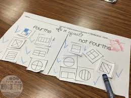 fractions for first graders firstgraderoundup