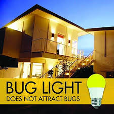 light bulb that doesn t attract bugs tcp 5w equivalent led yellow bug light bulbs non dimmable laura