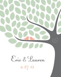tree guest book wedding tree guest book print