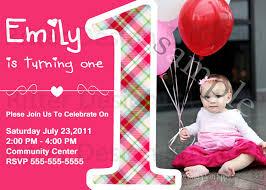 First Birthday Invitation Cards Templates Free Baby Birthday Invitation Card Invitation Ideas