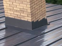 Flashing A Dormer Steel Roof Metal Roof Chimney Flashing Mackey Metal Roofing
