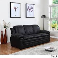 Large Black Leather Sofa Sofa Furniture For Less Black Leather Sofa Set Blue