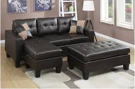 Small Leather Sofa With Chaise Winsome Small Leather Sectional Sofa 18 Plus Pull Out With