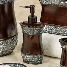 Bathroom Accessories Bronze by Elite Handpainted Bath Accessories