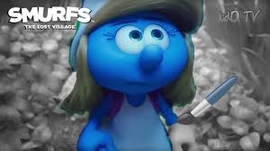 smurfs lost village movie coloring pages smurfette