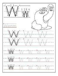 printable letter w tracing worksheets for preschool fun printable