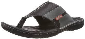 lee cooper men u0027s leather flip flops thong sandals buy online at
