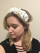 hippie flower headbands hippie flower headband hair accessories for women ebay