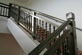 Black Banister 21 Elegant Wood Stair Railing Design Ideas Pictures