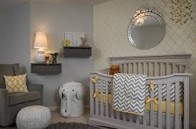 cosy bedroom designs yellow and gray elephant nursery ideas