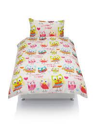 bright owl bedding set m u0026s