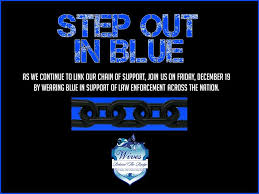 blue support ribbon the badge launches step out in blue supports other