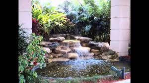 Backyard Waterfall Ideas by Creative Small Garden Waterfall Design Ideas Youtube