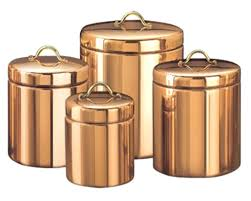 copper kitchen canister sets copper canister set kitchen rudranilbasu me