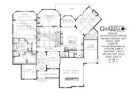 chateau floor plans mon chateau house plan house plans by garrell associates inc