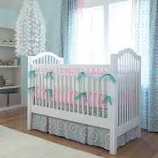 Pink And Blue Crib Bedding Light Blue Floral Bedding U2013 Doteco Co