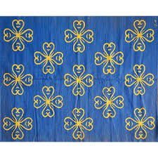Blue Contemporary Rugs Vintage U0026 Used Royal Blue Contemporary Handmade Rugs Chairish