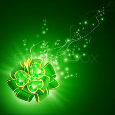 emerald green ribbon stpatrick green ribbon bow with emerald shamrock magic