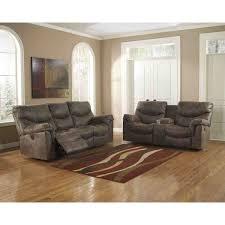 Ashley Furniture Alzena Living Room Set in Gunsmoke
