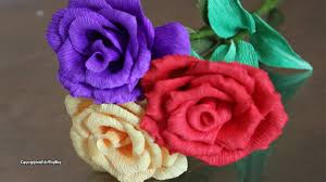 how to make home decor crafts atn home decoration craft crepe paper roses craft how to make
