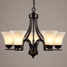 Chandeliers Ls Black 5 Light Wrought Iron Chandeliers With E27 L Holder