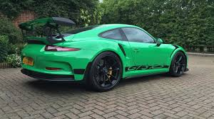 porsche 911 viper green 2016 rs green porsche 911 gt3 rs for sale at 321 000 in the uk