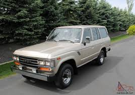 land cruiser vintage survivor with 9047 miles 1988 toyota land cruiser fj62