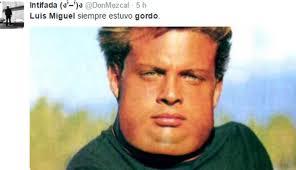 Luis Miguel Memes - twitter memes se burlan de supuesta gordura de luis miguel foto